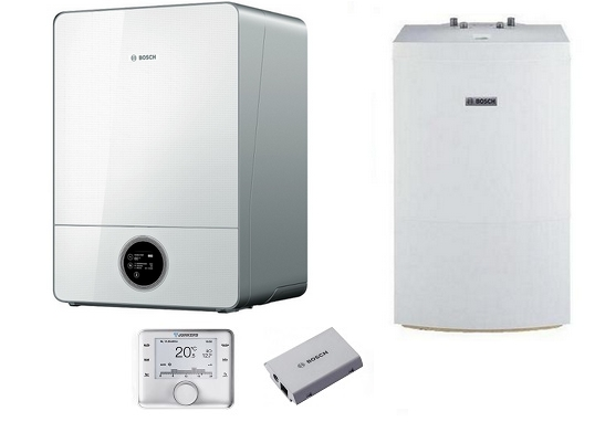 Bosch Condens GC9000iW 20 E + WD 120 B + CW 400 + MBLANi