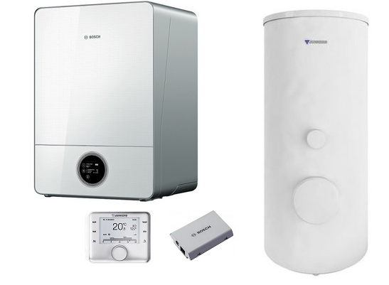 Bosch Condens GC9000iW 30 E + WST 290-5SCE + CW 400 + MBLANi